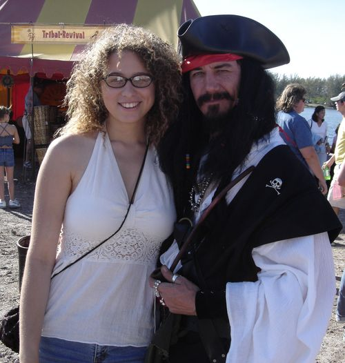 Crissy and the pirate